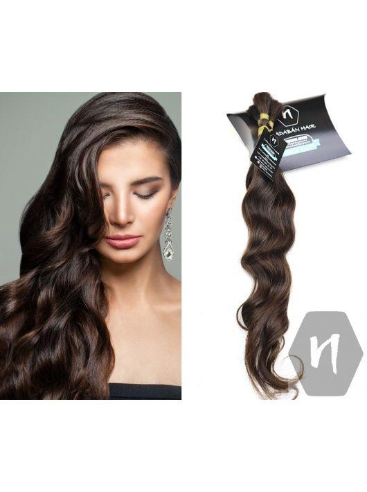 Vágott emberi haj (feldolgozatlan) magyar póthaj 40-50 cm 80 gramm