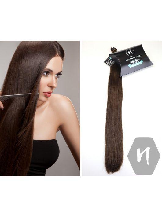 Vágott emberi haj (feldolgozatlan) magyar póthaj 60cm 76 gramm