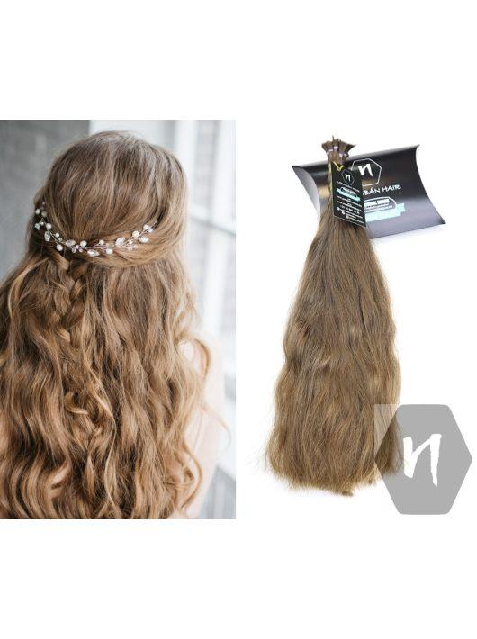 Vágott emberi haj (feldolgozatlan) magyar póthaj 43 cm 68 gramm