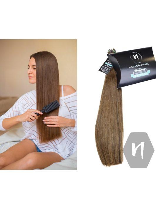 Vágott emberi haj (feldolgozatlan) magyar póthaj 44 cm 124 gramm