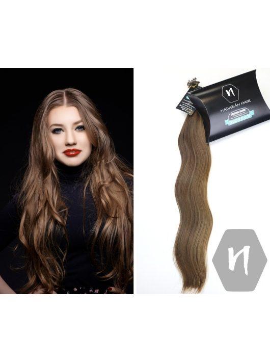 hullámos sötétszőke magyar európai póthaj hajhosszabbítás 6-7 szín