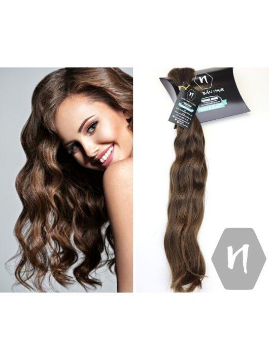 Vágott emberi haj (feldolgozatlan) magyar póthaj 45-47 cm 106 gramm