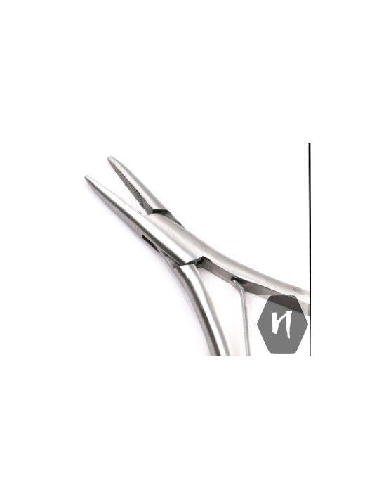Professzionális acél fogó póthaj illesztéshez és leszedéshez