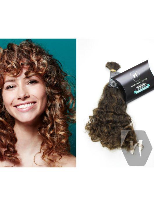 Vágott emberi haj (feldolgozatlan) magyar póthaj 40-45 cm 154 gramm