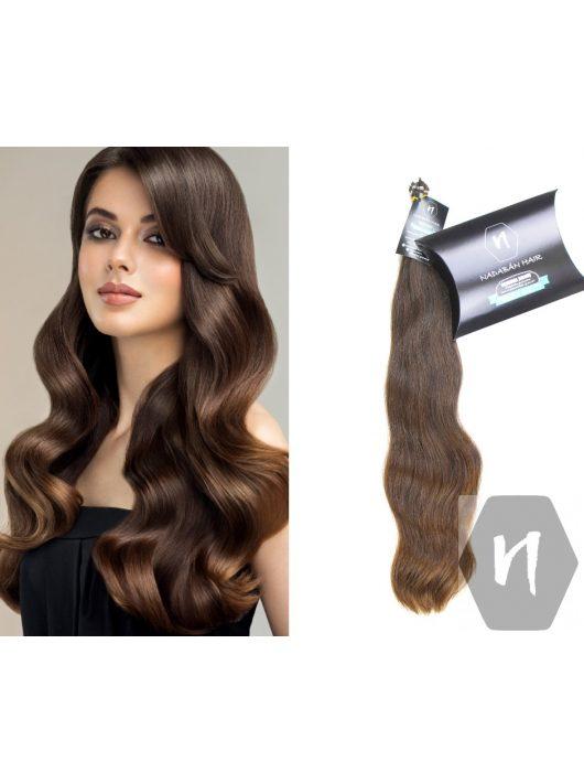 Vágott emberi haj (feldolgozatlan) magyar póthaj 50-55 cm 100 gramm