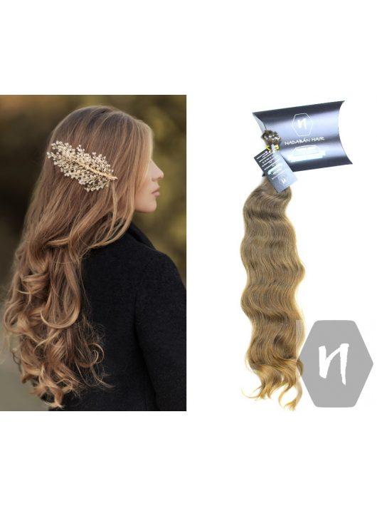 Vágott emberi haj (feldolgozatlan) magyar póthaj 50-55 cm 140 gramm