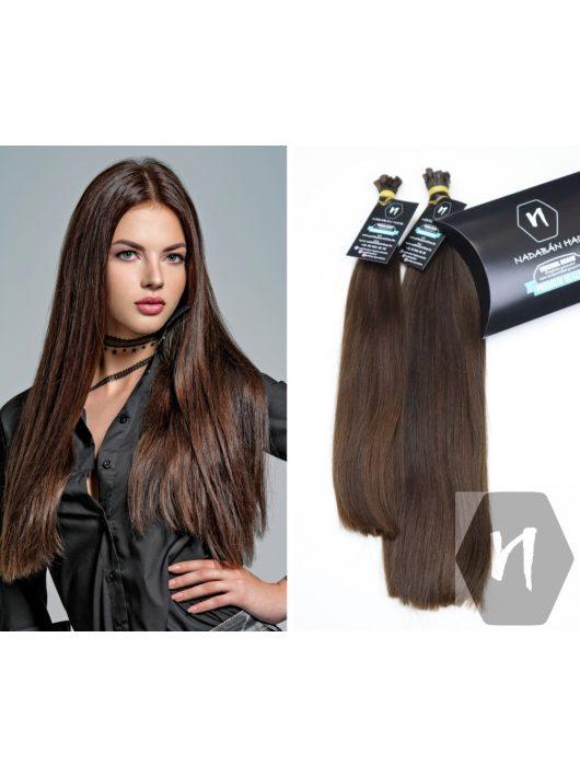 Vágott emberi haj (feldolgozatlan) magyar póthaj 40-48cm 156 gramm