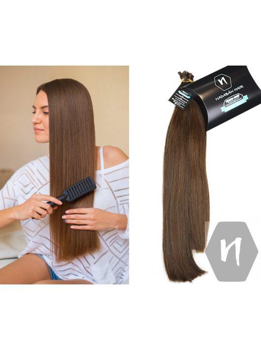 Vágott emberi haj (feldolgozatlan) magyar póthaj 48-55 cm 148 gramm