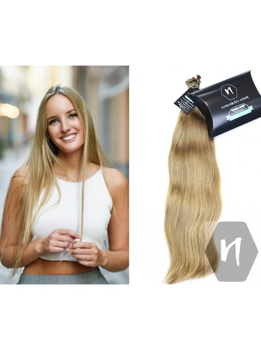 Világos festetlen szőke gyerek póthaj hajkereskedés Nadabán Hair