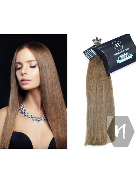 Középbarna magyar póthaj 45cm vékony szálú Nadabán Hair