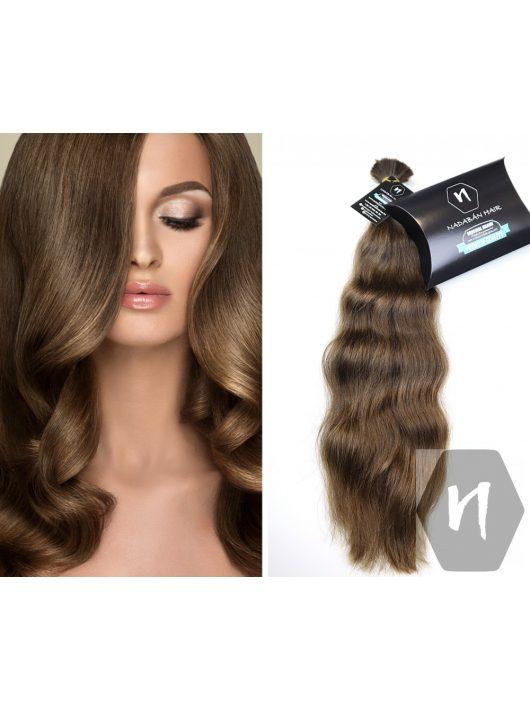 Vágott emberi haj (feldolgozatlan) magyar póthaj 50-55 cm 126 gramm