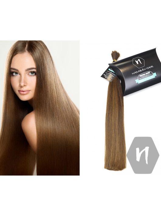 Vágott emberi haj (feldolgozatlan) magyar póthaj 44 cm 54 gramm