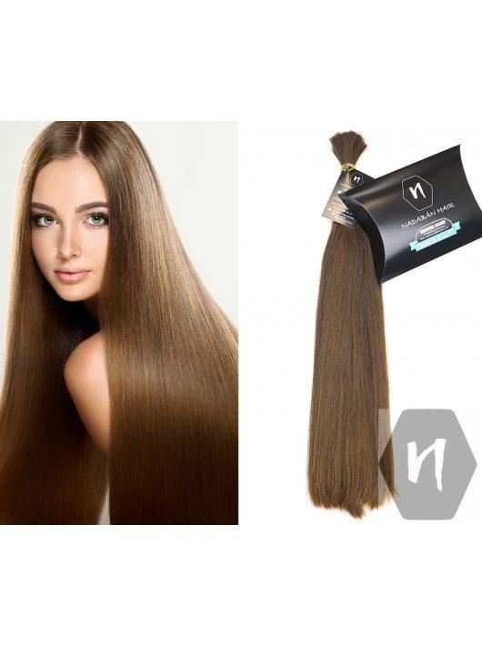 Vágott emberi haj (feldolgozatlan) magyar póthaj 48-52 cm 118 gramm