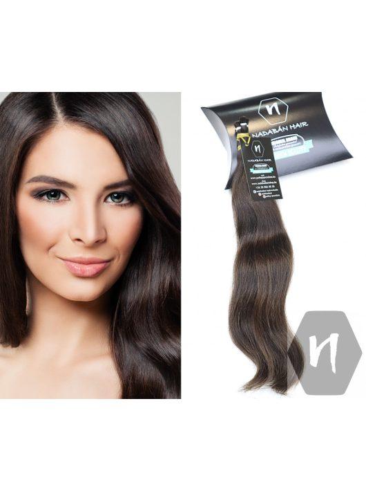 Vágott emberi haj (feldolgozatlan) magyar póthaj 40-45 cm 62 gramm