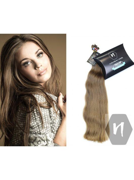 Világos erősen hullámos európai szőke póthaj hajkereskedés Nadabán Hair Budapest