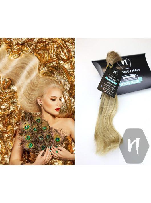 Vágott emberi haj (feldolgozatlan) magyar póthaj 26 cm 48 gramm