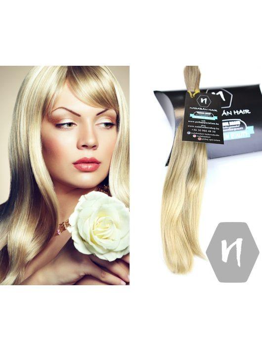 Vágott emberi haj (feldolgozatlan) magyar póthaj 27-28 cm 26 gramm